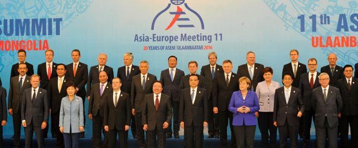 11. Asya-Avrupa Zirvesi başladı