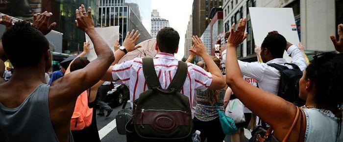 ABD'de göstericilere gözaltı