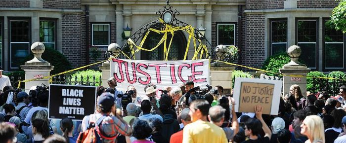 ABD'de siyahilere polis şiddetine tepki