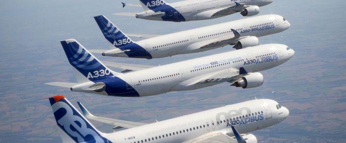Airbus, 2017'de bin 109 adet ticari uçak siparişi aldı