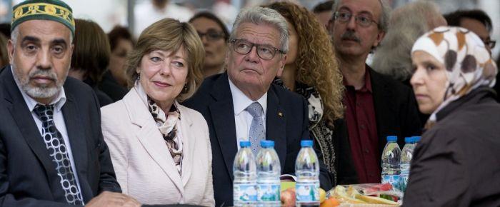 Alman Cumhurbaşkanı Gauck iftara katıldı