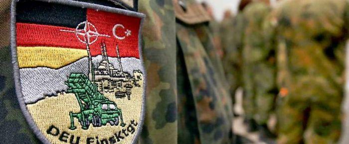 Almanya İncirlik'e asker gönderdi