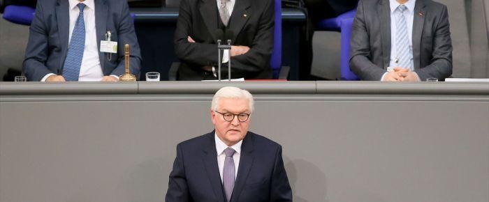 Almanya'nın yeni Cumhurbaşkanı Steinmeier