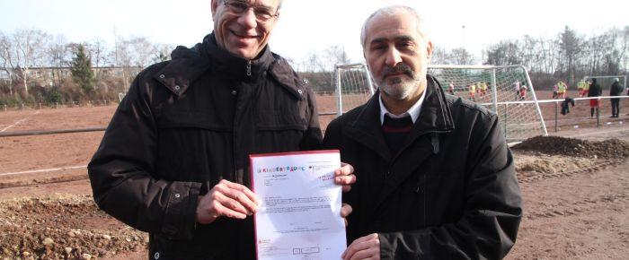 Anadoluspor'a anlamlı ödül