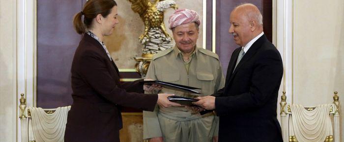 Barzani ABD ile anlaştı
