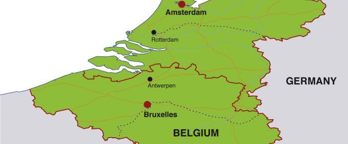 Belçika ve Hollanda arasında