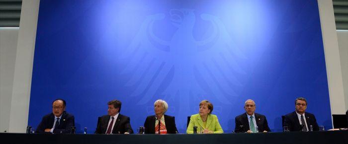 Berlin'de ekonomi zirvesi