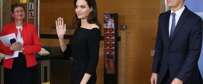 BM Özel Temsilcisi Angelina Jolie NATO'da