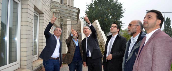 Bremen Eyalet Başbakanı Sieling'den cami ziyareti