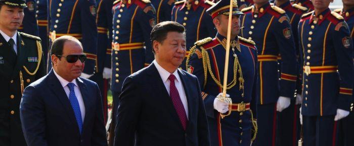 Çin Devlet Başkanı Mısır'da