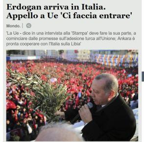Cumhurbaşkanı Erdoğan için Roma'da olağanüstü güvenlik
