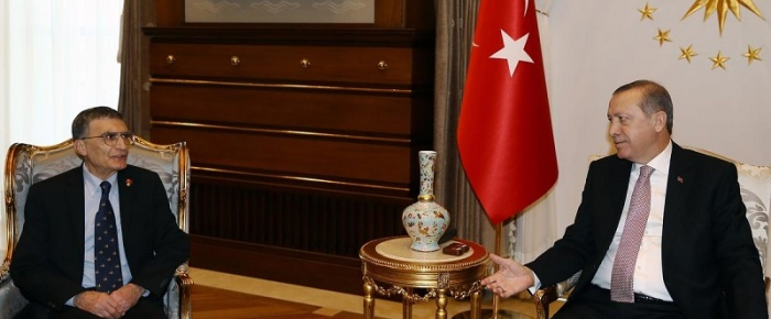 Cumhurbaşkanı Erdoğan Prof. Dr. Sancar'ı Kabul Etti