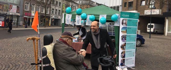 Hasene'den Almanya'daki evsizlere çorba ikramı