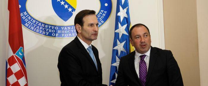 Hırvatistan'dan Bosna Hersek'e AB desteği