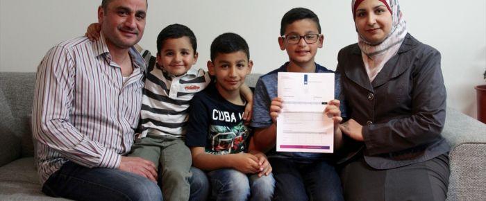 Hollanda'da Suriyeli mülteci çocuktan büyük başarı