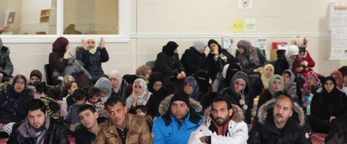 Kanada'da sığınmacılara