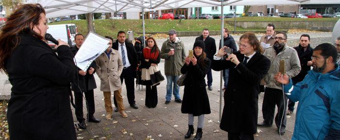 NSU terör örgütü Köln'de protesto edildi