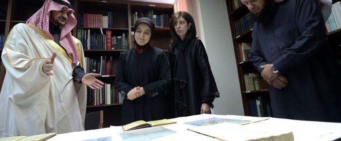 Sare Davudoğlu'ndan Araştırma Merkezi ziyareti