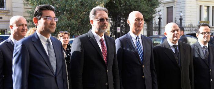 Şehit Büyükelçi Carım, Roma'da anıldı