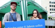 Brüksel'de Almanya'yı protesto eylemi