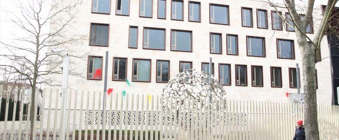 Türkiye'nin Berlin Büyükelçiliği'ne saldırı