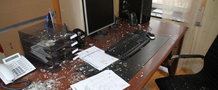 UETD Genel Merkezine saldırı