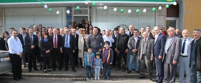 Yurtdışında Giresun Derneği hizmet binası açıldı